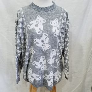 Vintage Classic Essentials Teddy Bear Sweater